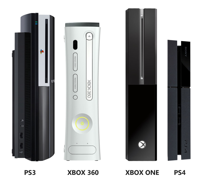 Ps4 vs ps3 slim le comparatif en vid o le blog de rafik - Meilleur console entre xbox one et ps4 ...