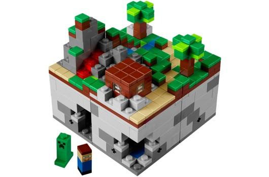 Minecraft débarque en lego