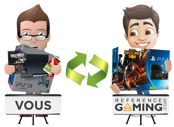 Pas facile de trouver ou de vendre un jeu reference - Quelle console choisir ps4 ou xbox one ...