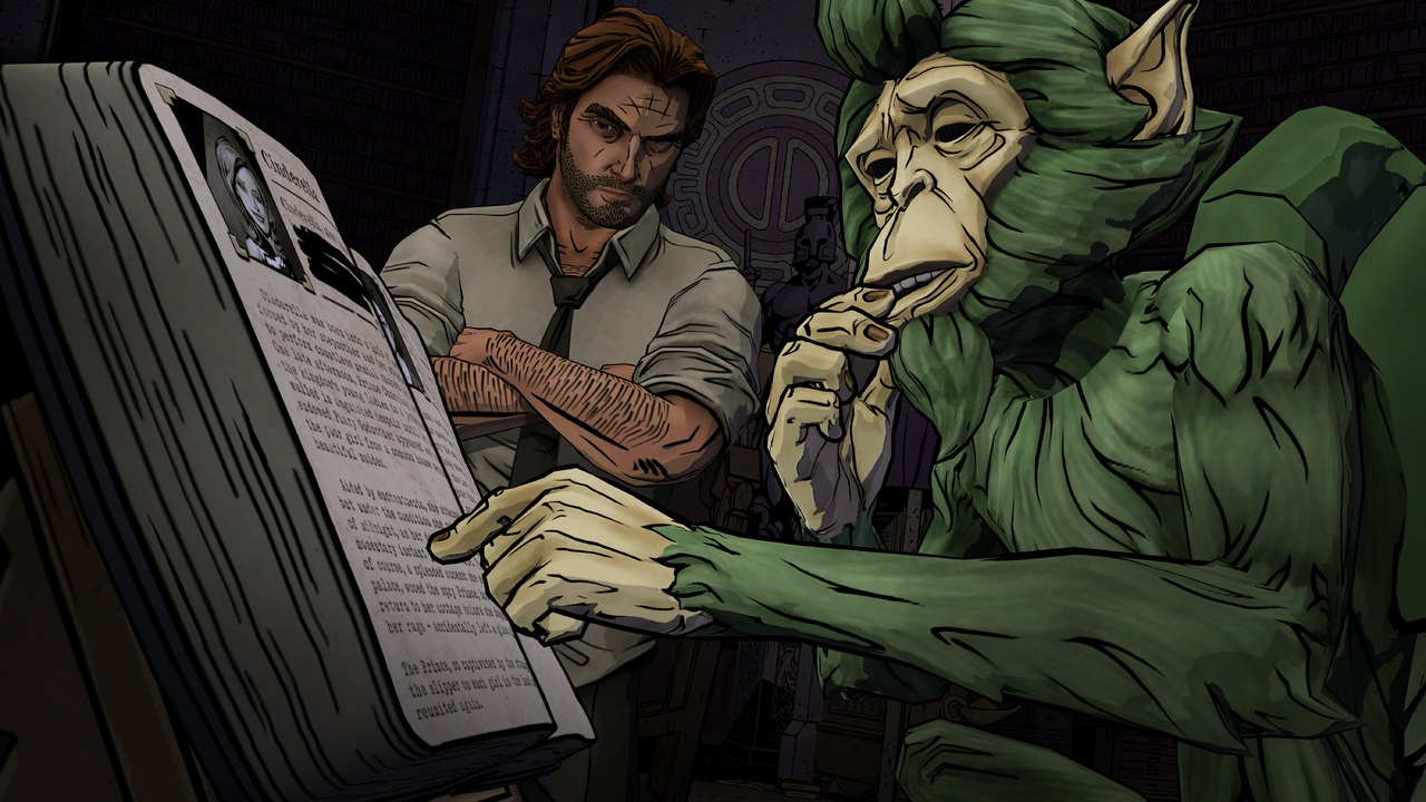 The Wolf Among Us 1-3