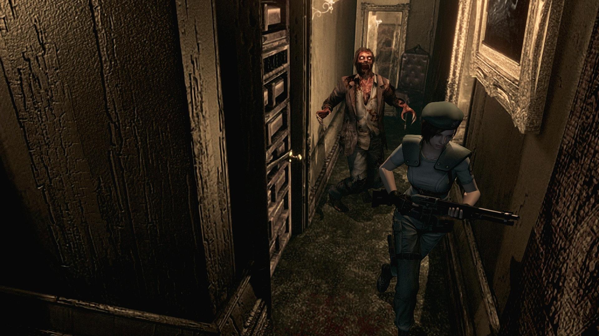 resident evil game trailer