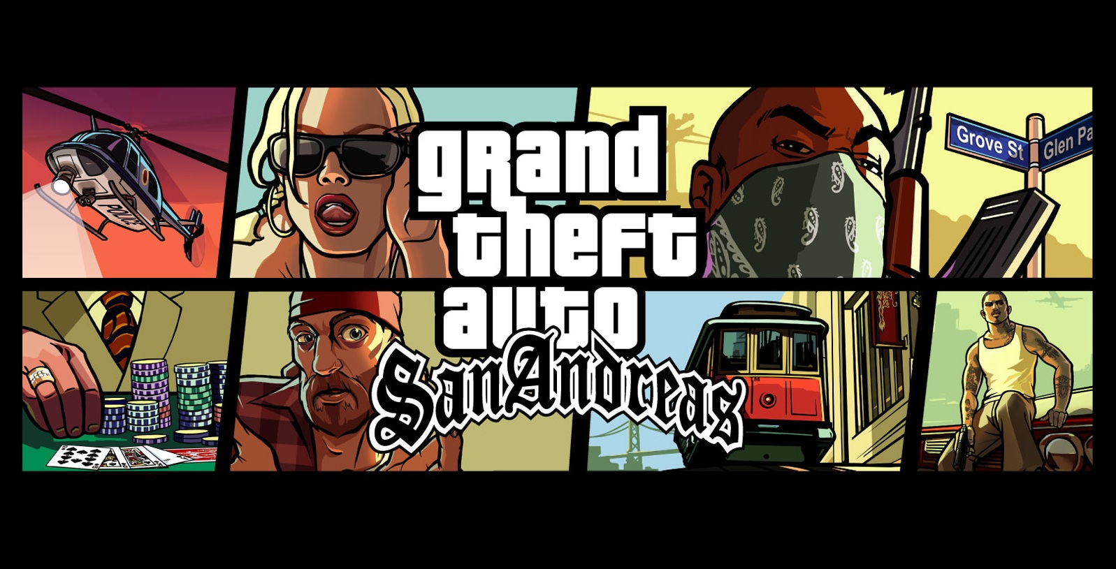 gta san andreas sur pc mac playstation 2 et 6 autres plateformes. Black Bedroom Furniture Sets. Home Design Ideas