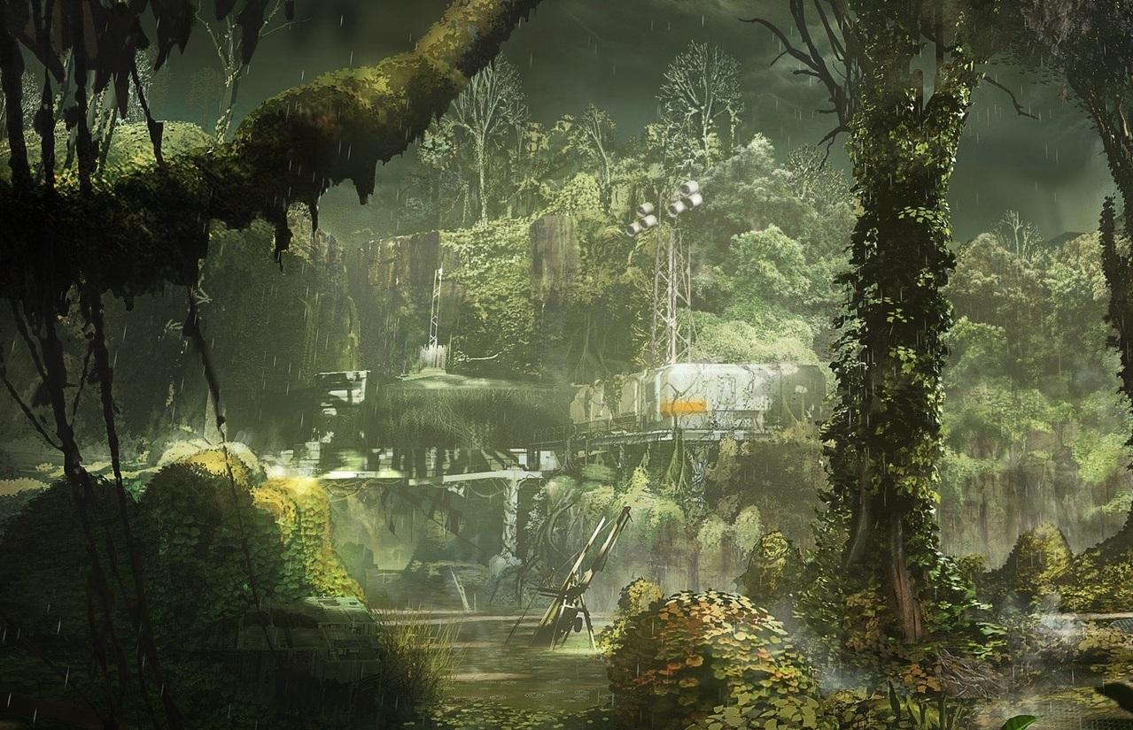 Décors dévasté 700 ans après notre présent dans Destiny sur PS3 et Xbox 360