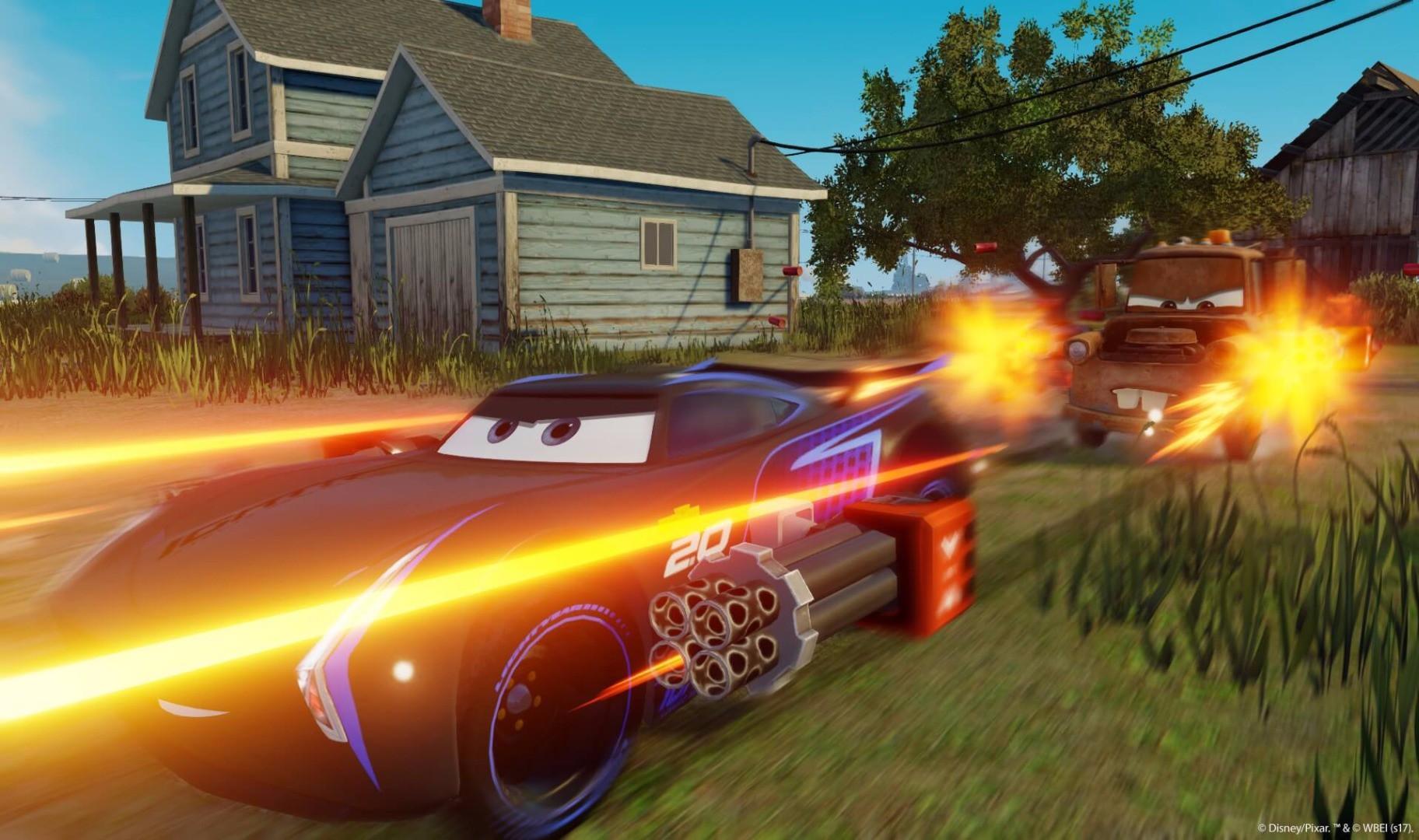 Test Cars 3 Mode Battle Mario Kart