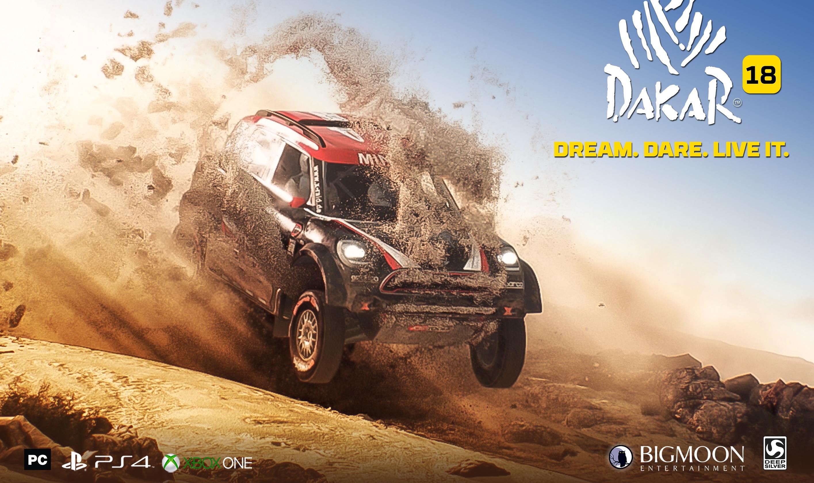 Test DAKAR 18 PS4