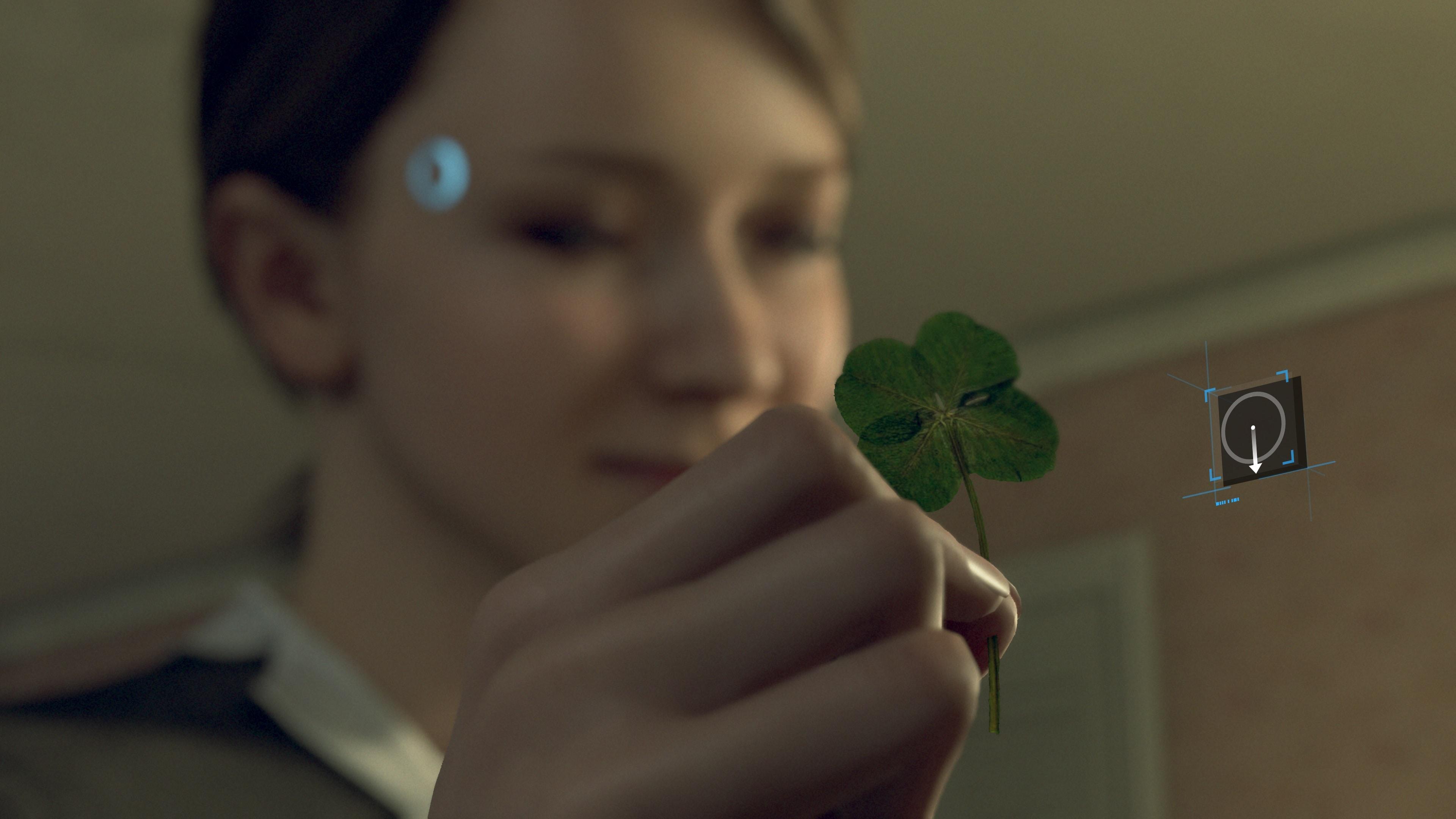 Test Detroit Become Human PS4 PRO - Kara Trèfle à 4 Feuilles