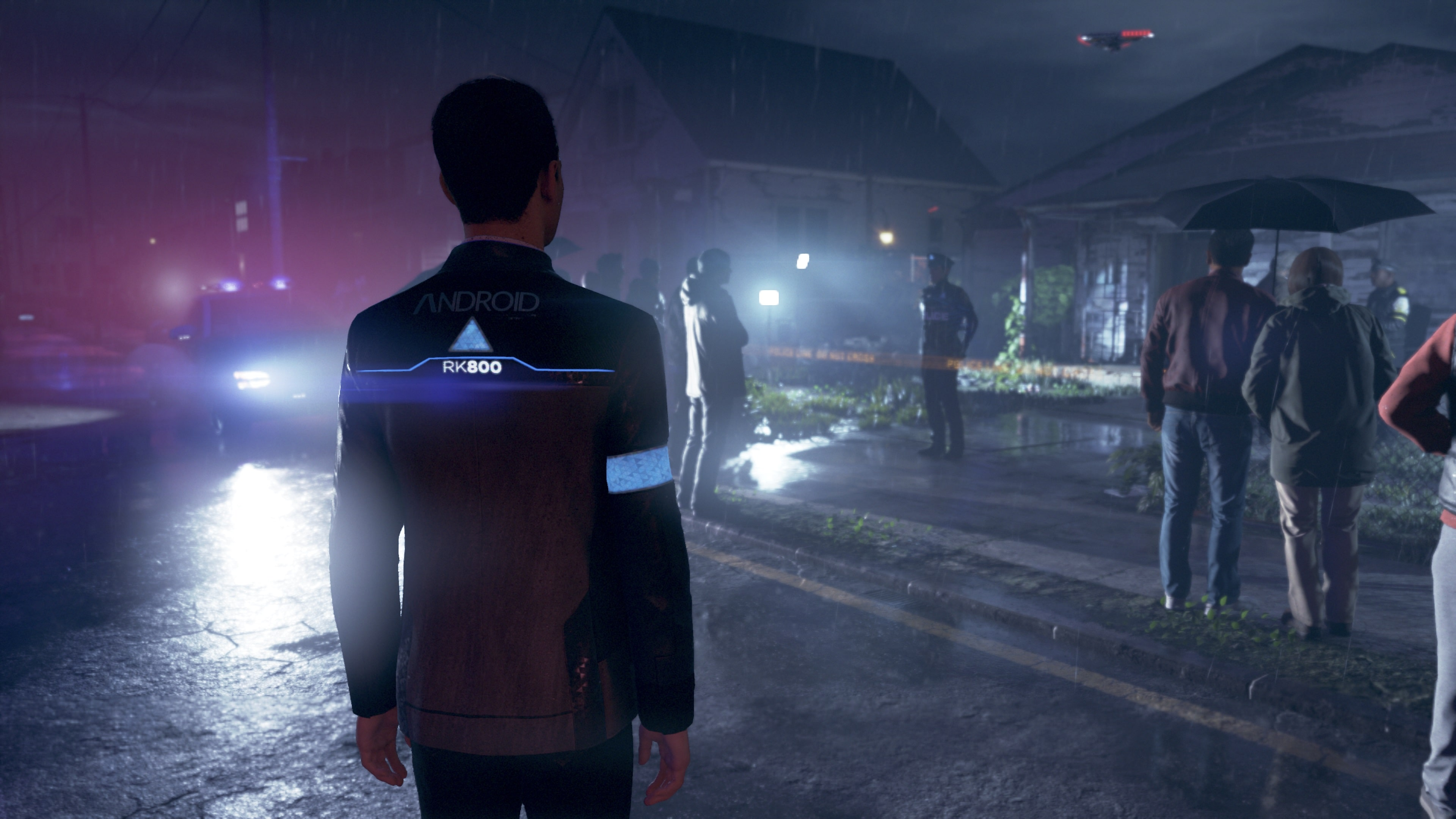 Test Detroit: Become Human PS4 Pro - Connor