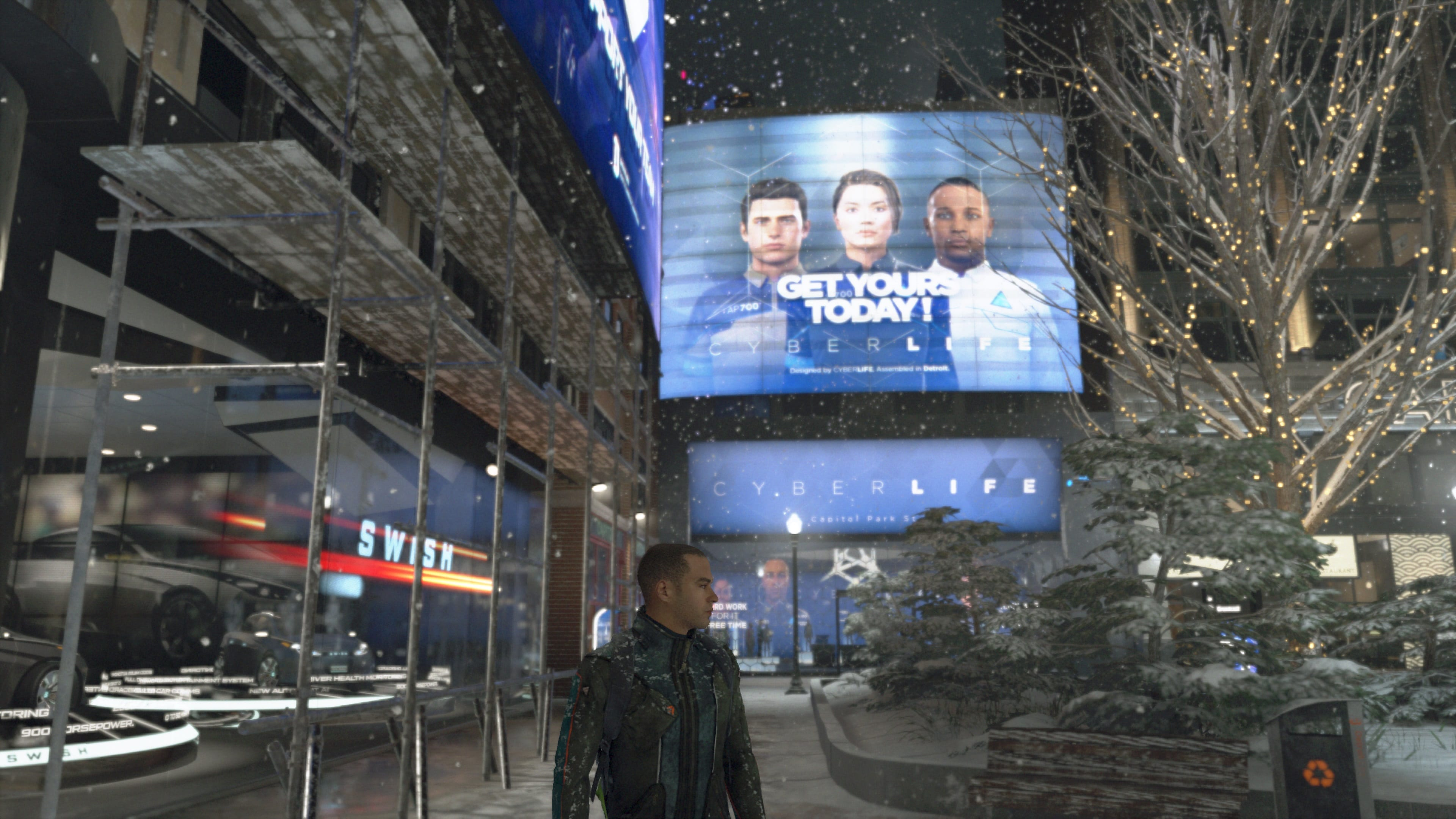 Test Detroit Become Human PS4 Pro - Markus CyberLife
