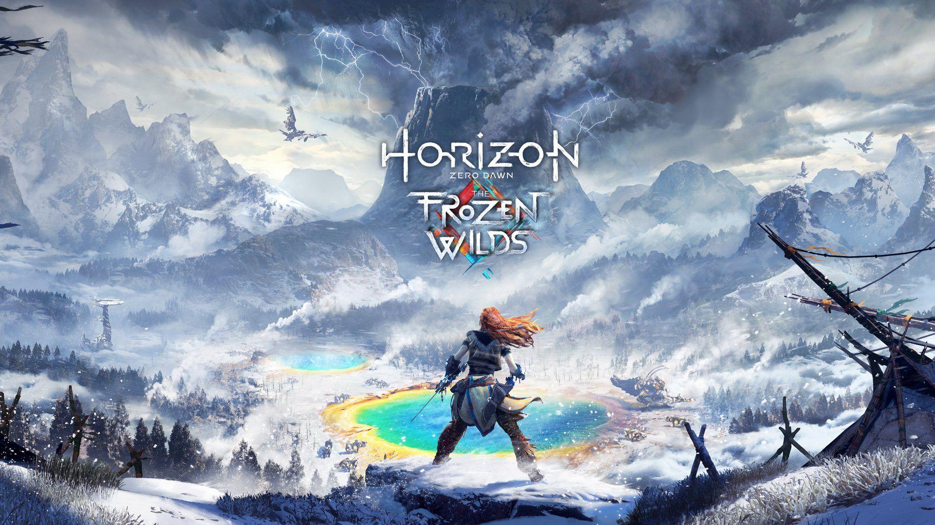 The Frozen Wild DLC Horizon Ecran Titre PS4
