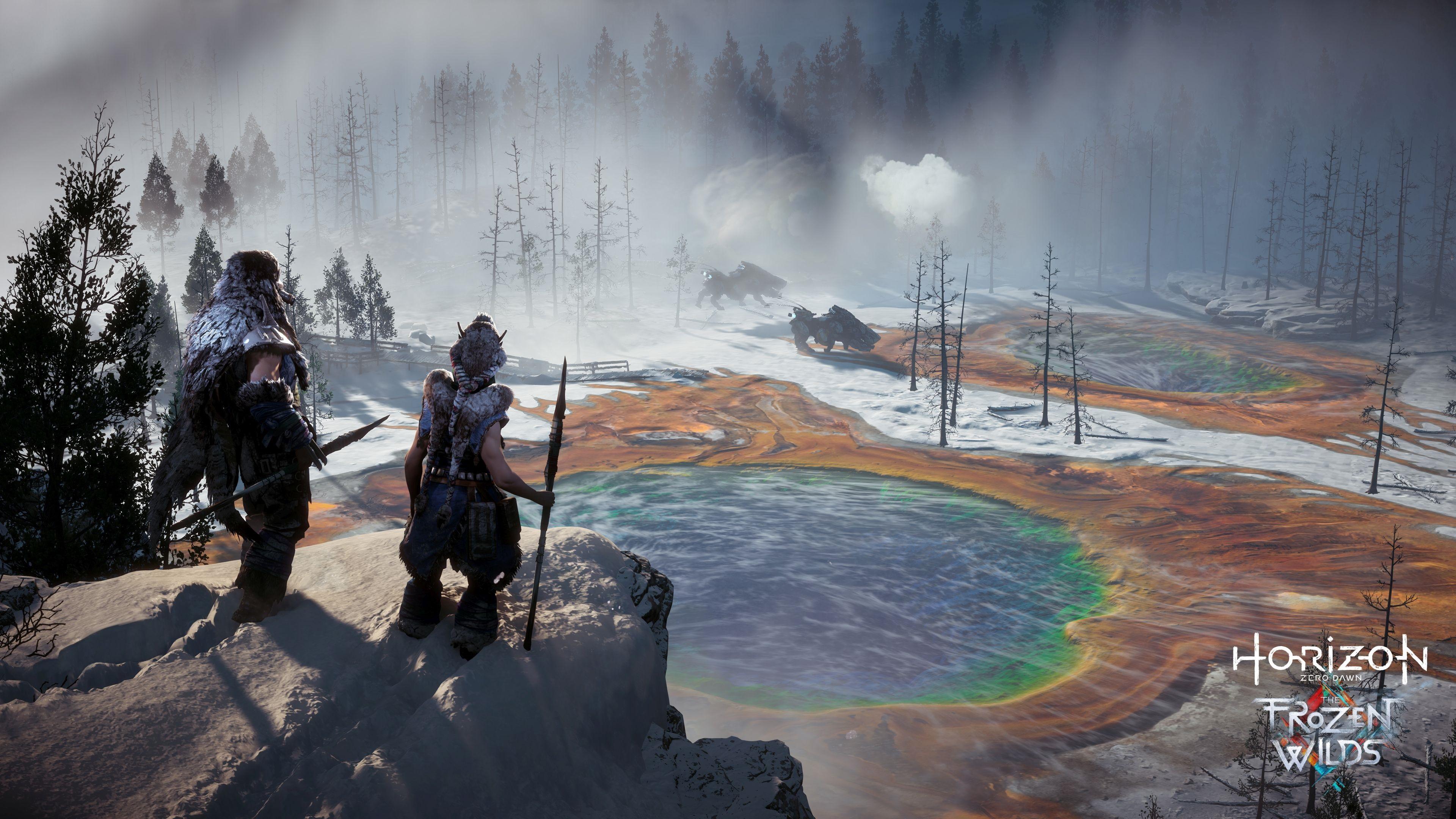 Horizon DLC Frozen Wild Lac Couleurs PS4