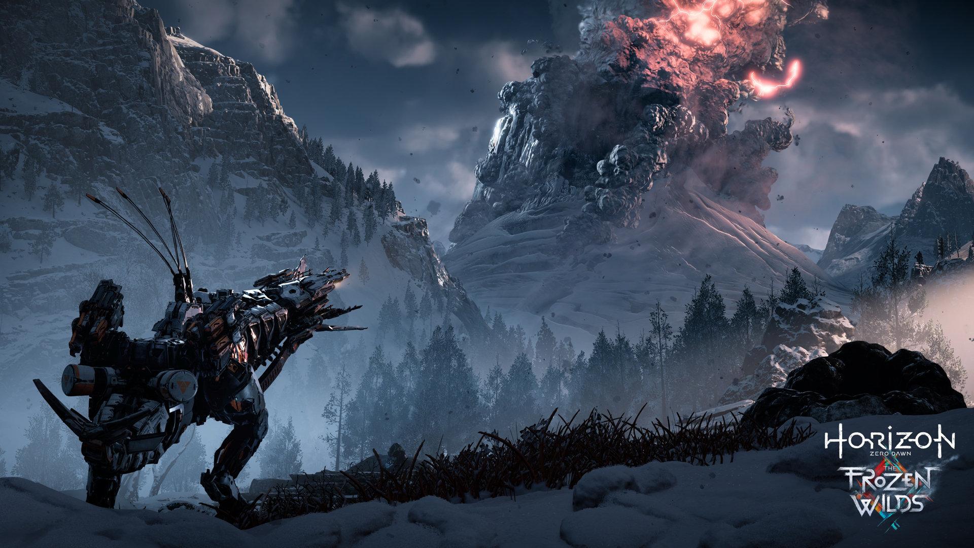 Horizon DLC Machine Neige PS4