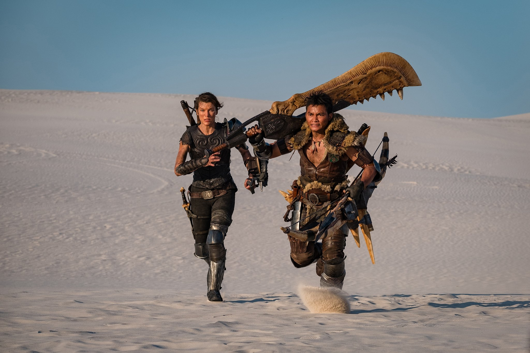 Monster Hunter le film mila jovovich
