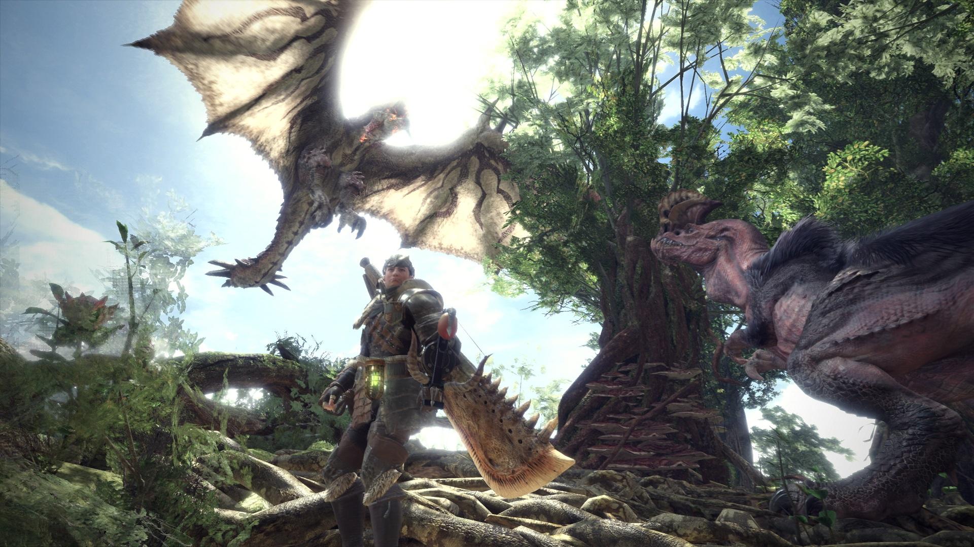 Le prochain Monster Hunter sera aussi sur Xbox One