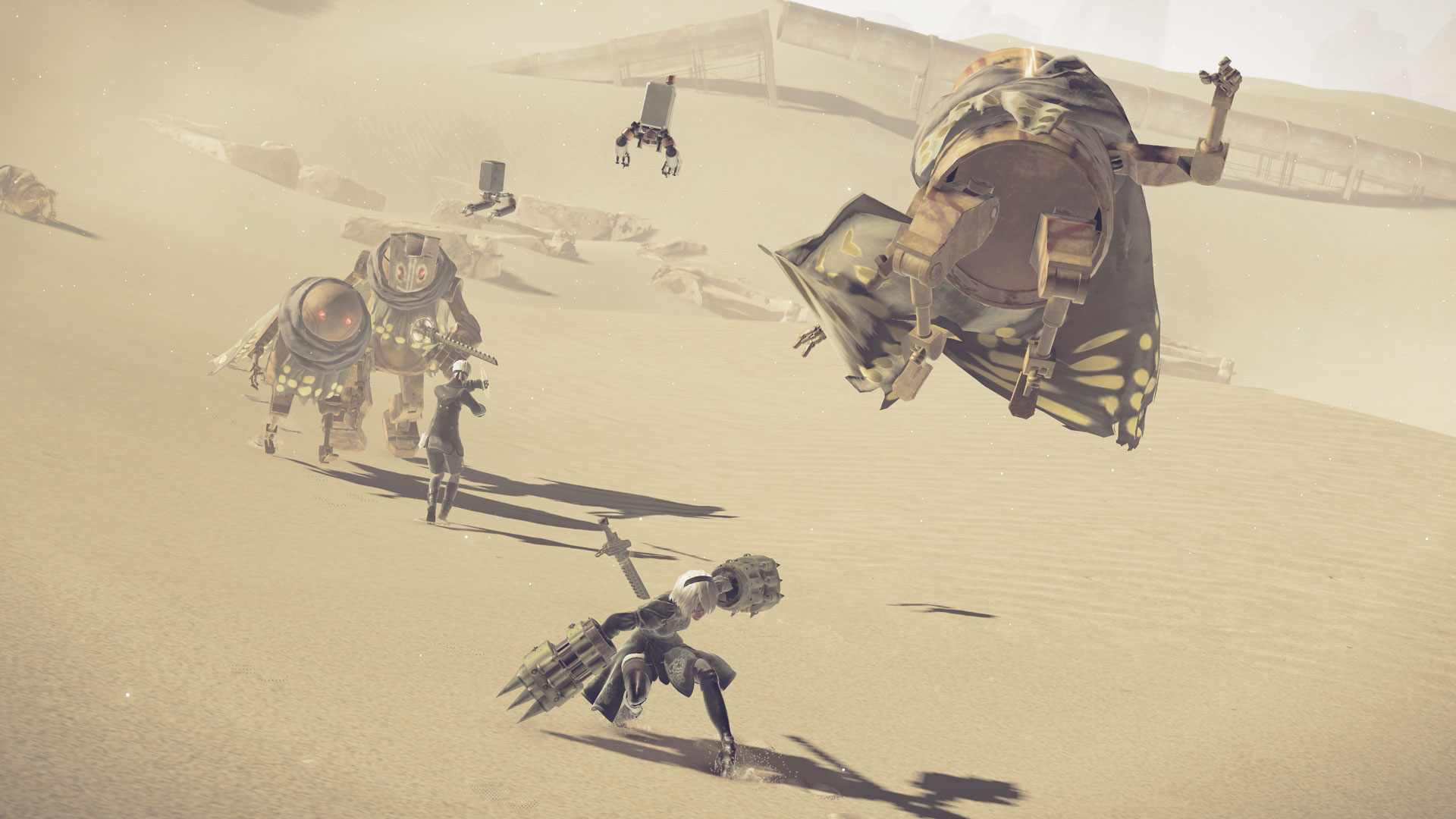 NieR : Automata sera optimisé sur PS4 Pro