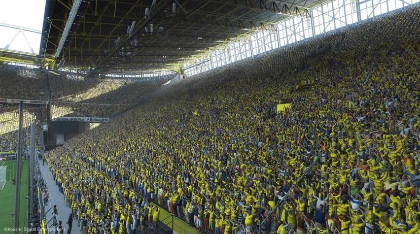 PES 2019 Foule Stade