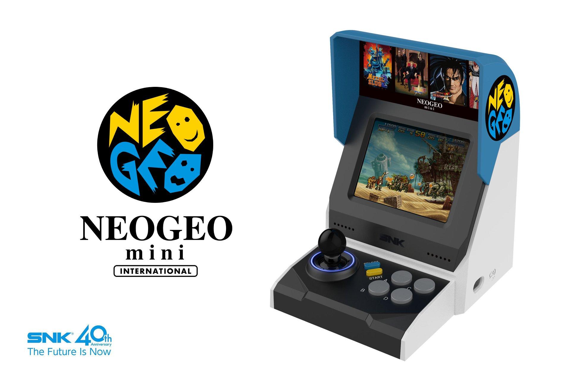 Neo geo mini snk d voile une mini borne d 39 arcade munie - Telecharger pilote de manette de jeux a port usb ...