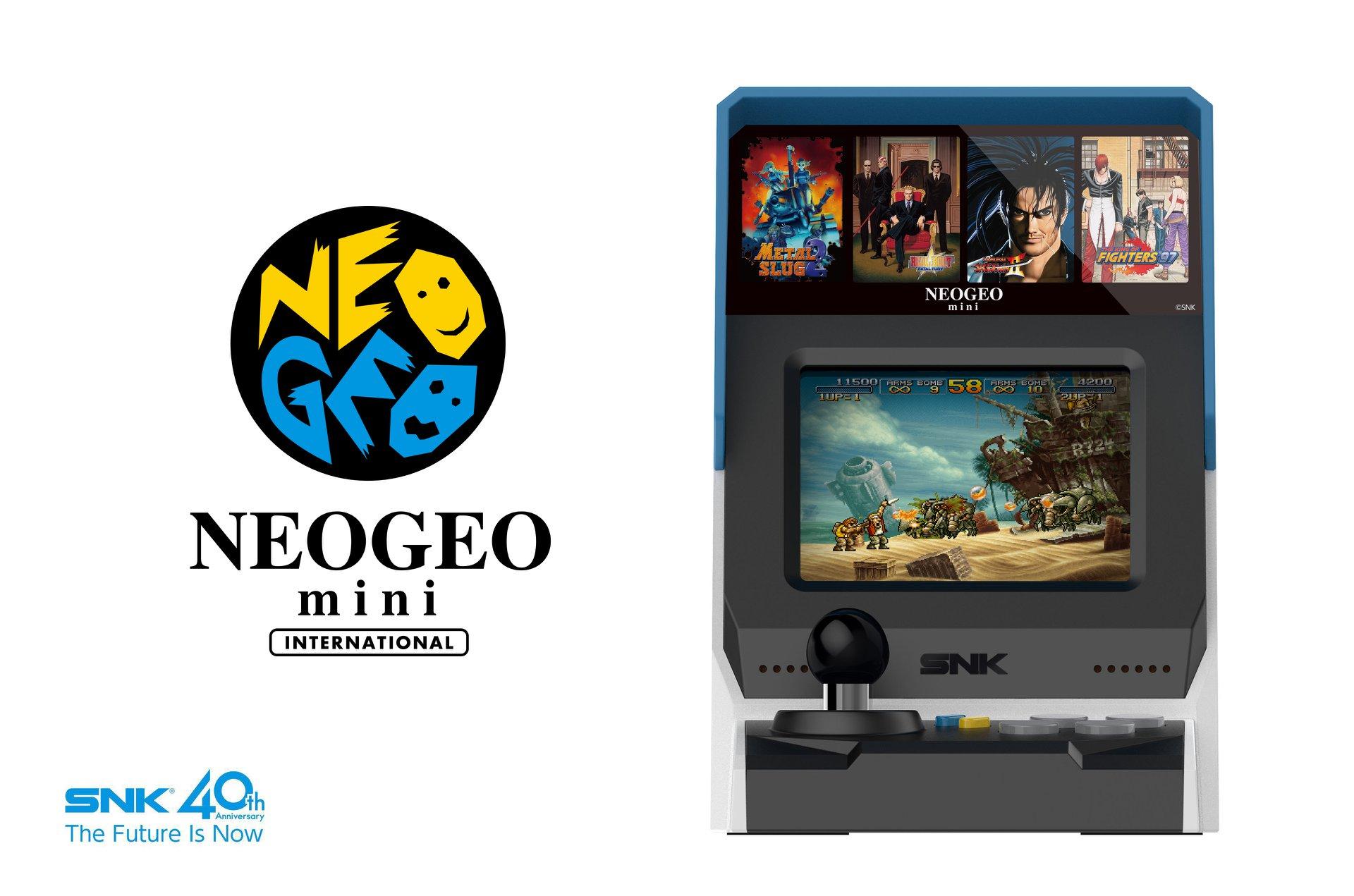 Neo Geo Mini - Image Borne 1