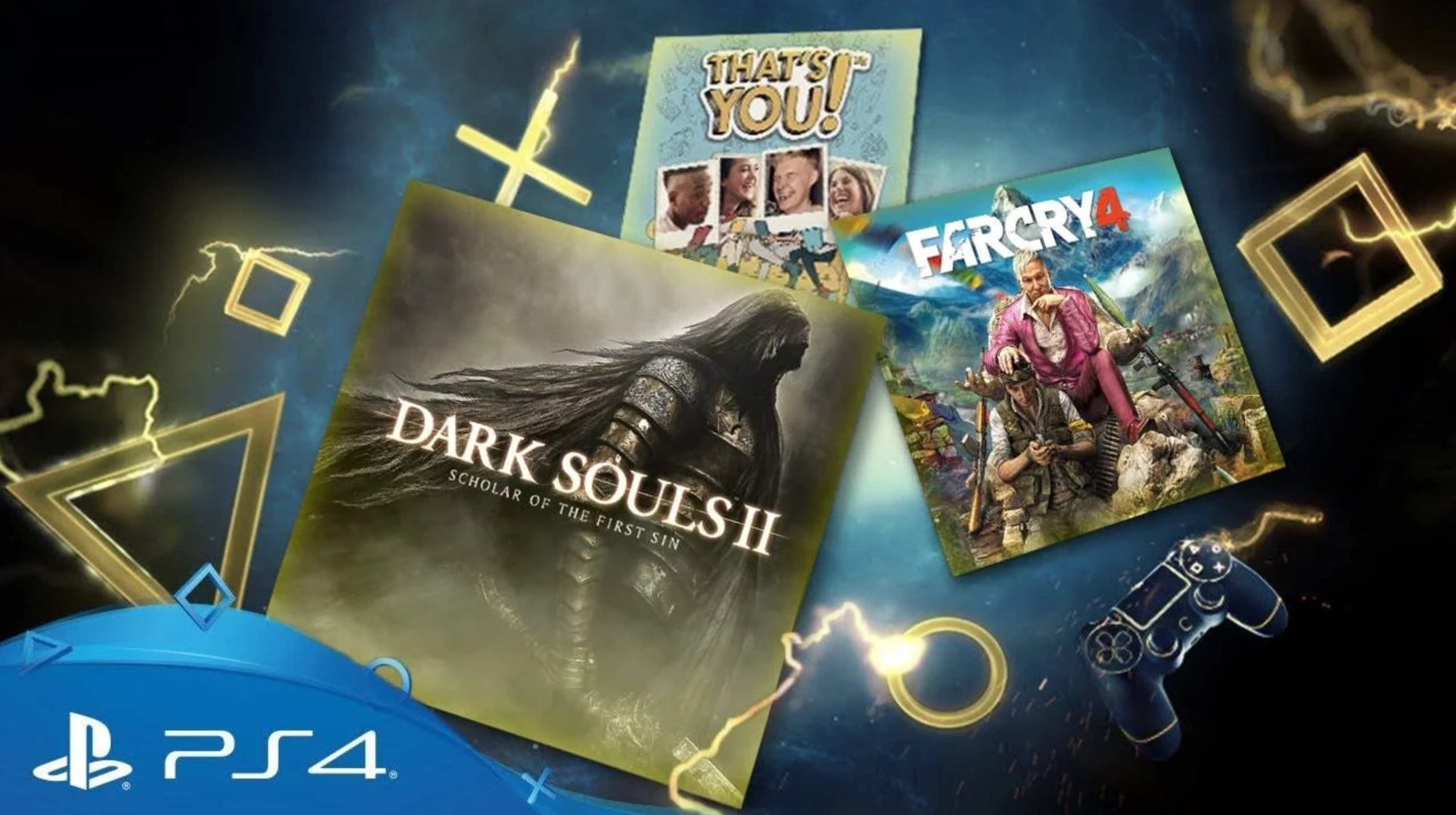 ps plus de f vrier 2018 un fake qui promet far cry 4 et dark souls 2 sur ps4 se prom ne sur. Black Bedroom Furniture Sets. Home Design Ideas