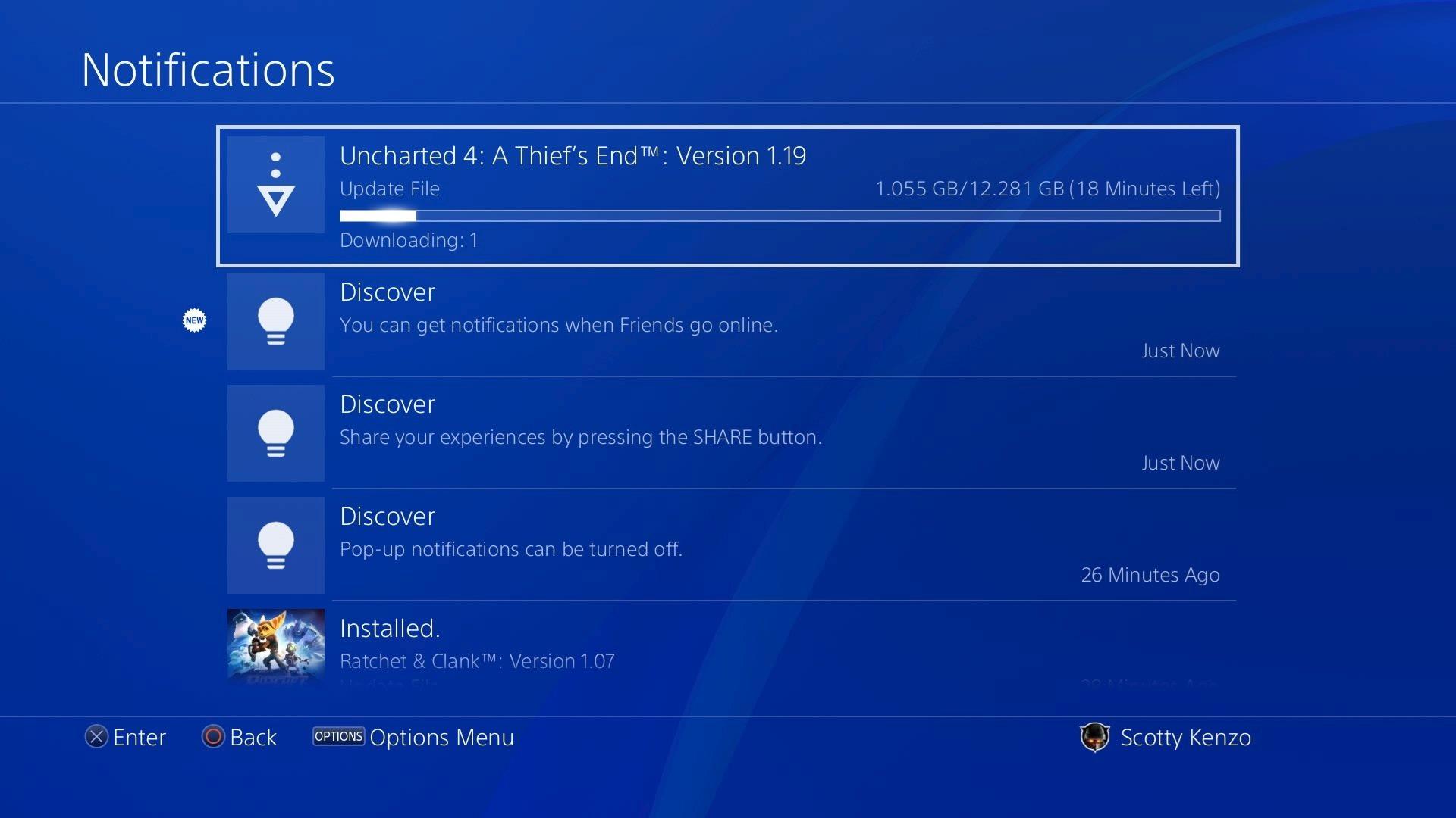 ps4 pro uhd blu ray firmware update