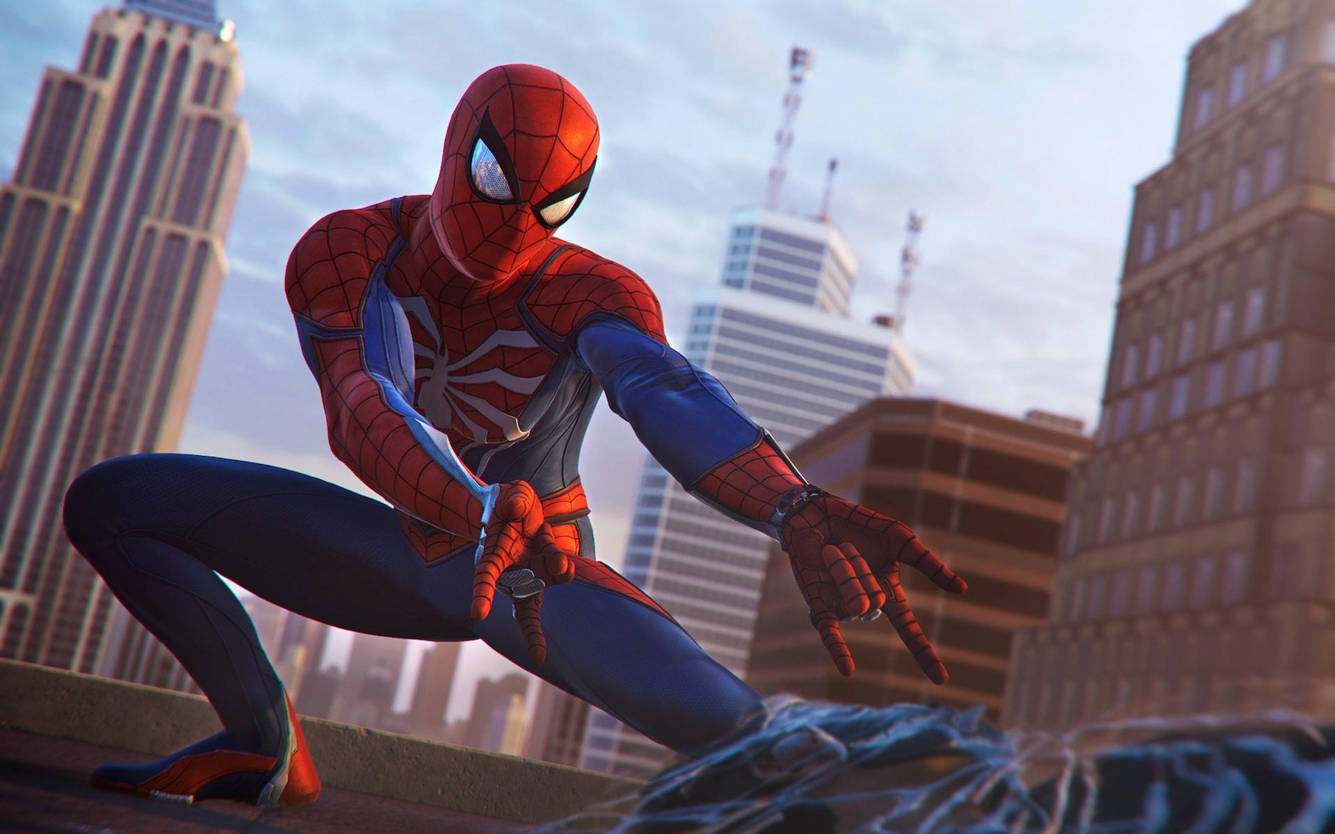 Spider man ps4 d voile ses graphismes via de nouveaux - Jeux de spiderman 7 ...