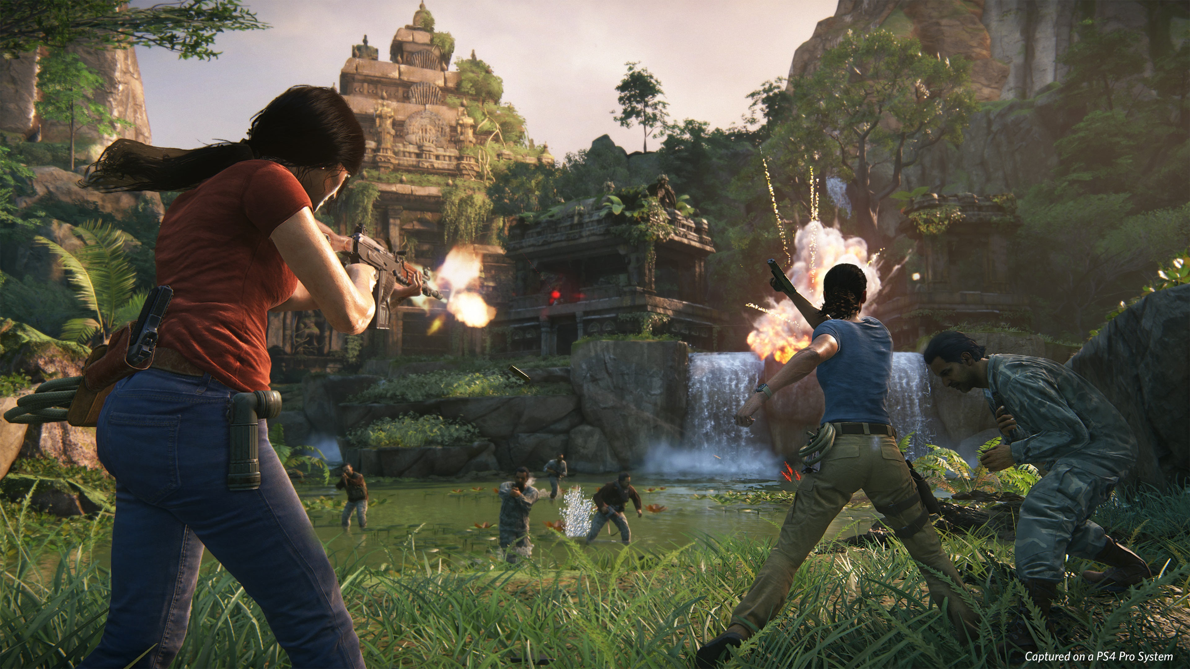 Uncharted Lost Legacy Gunfight