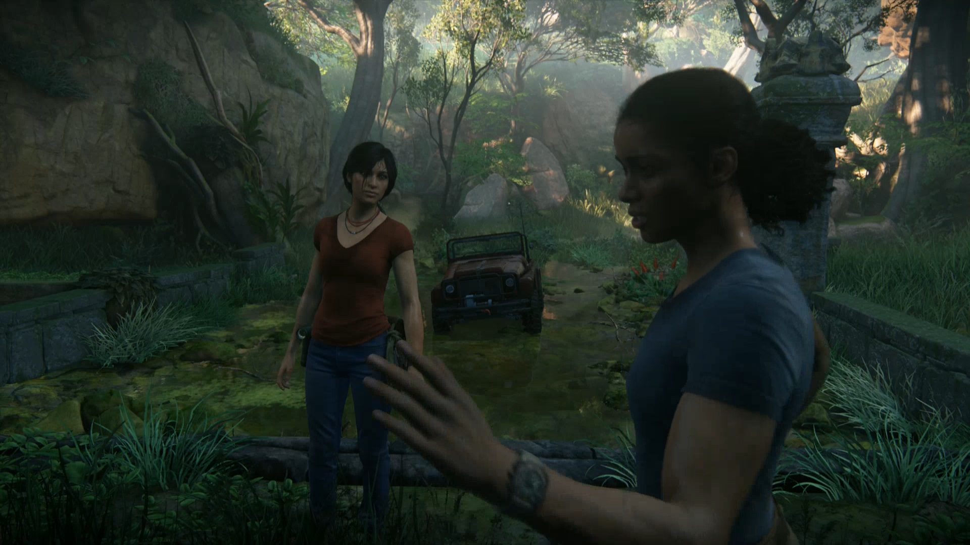 Chloe et Nadine Uncharted Lost Legacy PS4 Pro