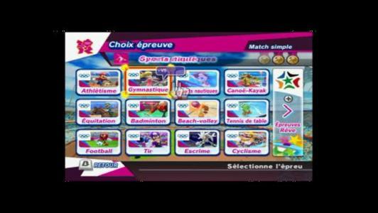 Mario Sonic Aux Jeux Olympiques De Londres 2012 Sur Wii Et