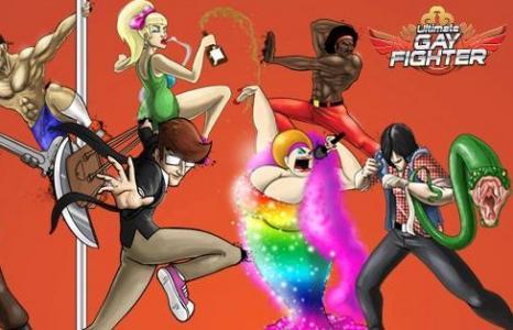ultimate gay fighter le premier jeu vid o de baston 100 gay. Black Bedroom Furniture Sets. Home Design Ideas