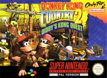 Jaquette de Donkey Kong Country 2: Diddy's Kong Quest