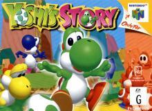 Jaquette de Yoshi's Story