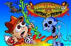 Jaquette de Sydney Hunter and the Caverns of Death
